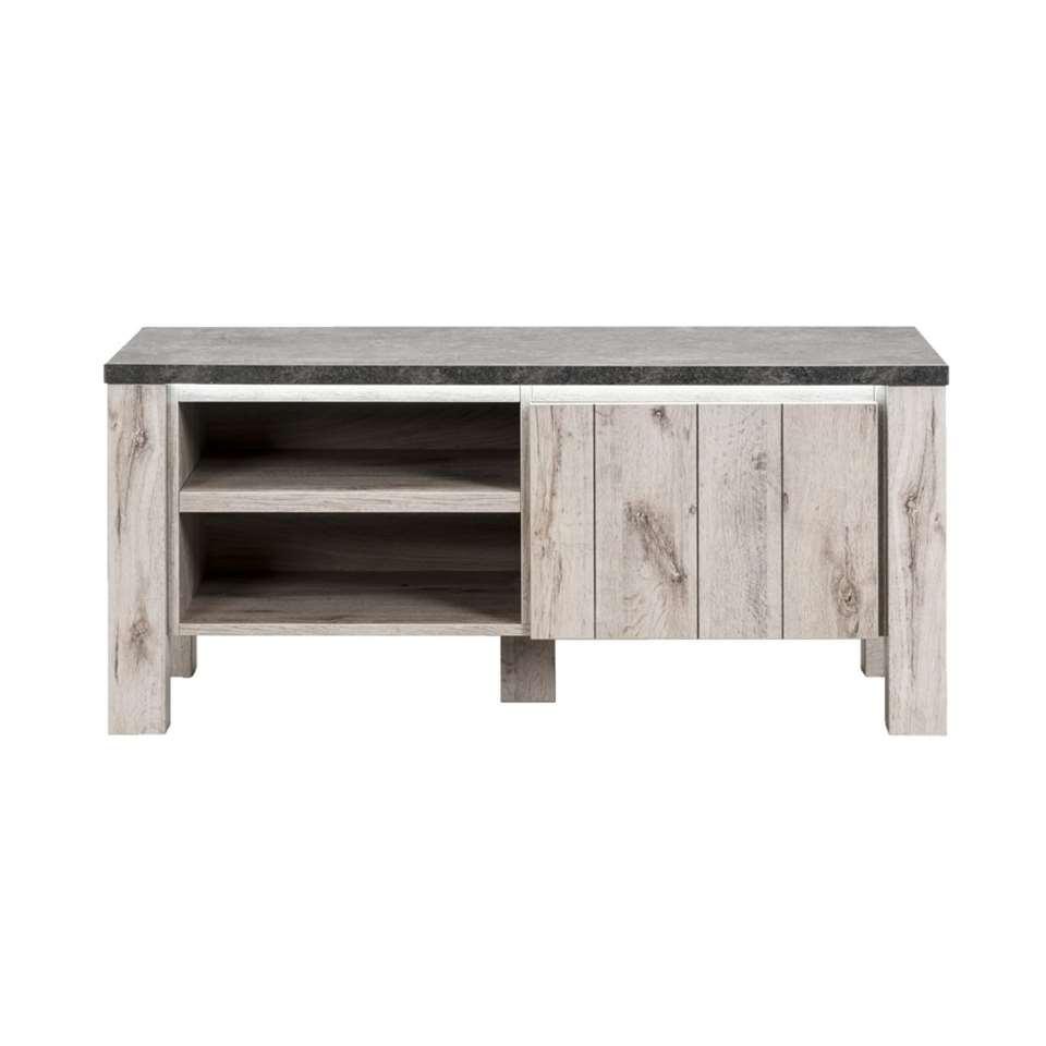 TV-meubel Jens - 52x118x50 cm (incl. verlichting) - Leen Bakker