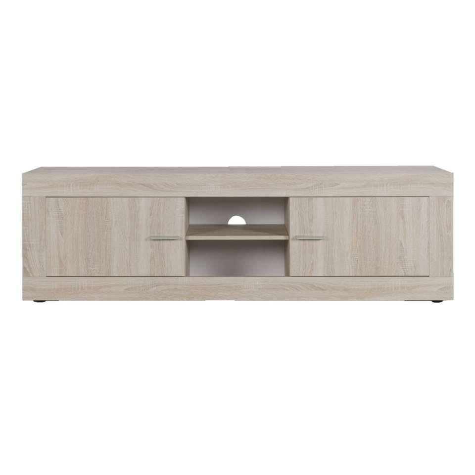 TV-meubel Joost - eikenkleur - 56x180x43 cm - Leen Bakker