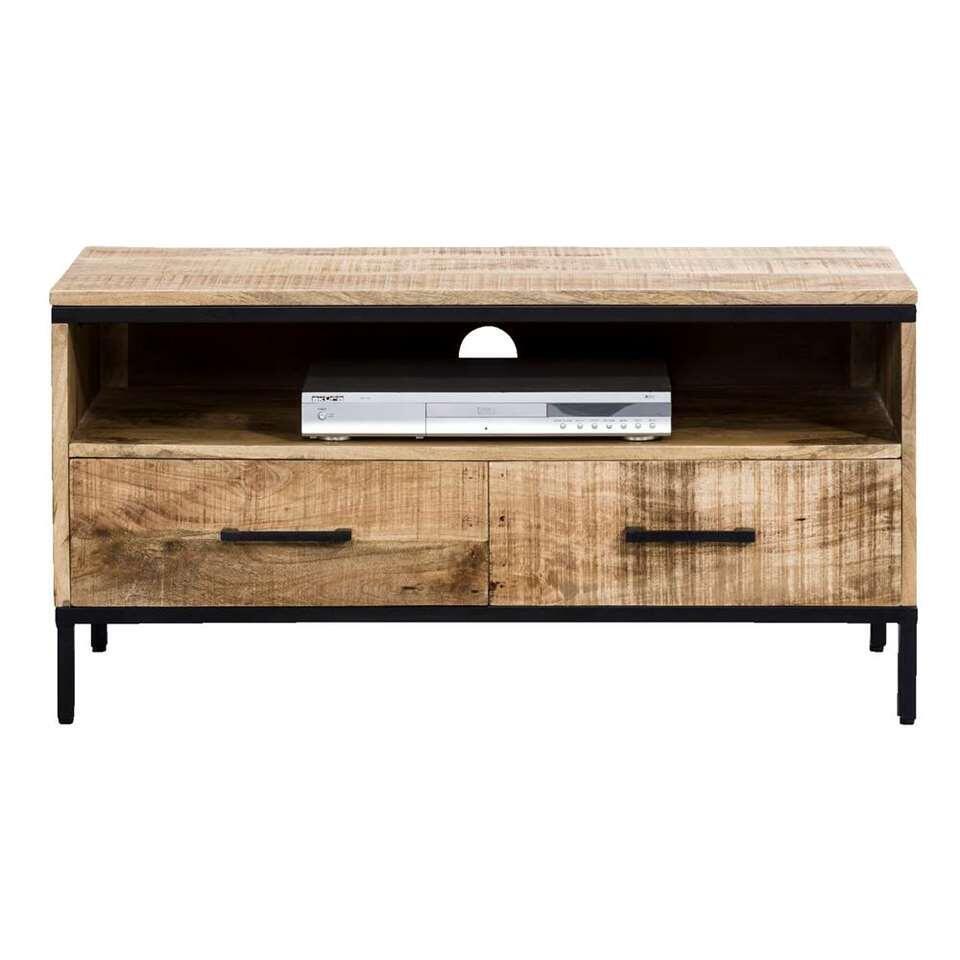 Tv-meubel Trevor – bruin – 50x100x45 cm – Leen Bakker