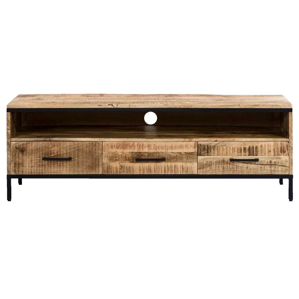 TV-meubel Trevor – bruin – 50x148x45 cm – Leen Bakker