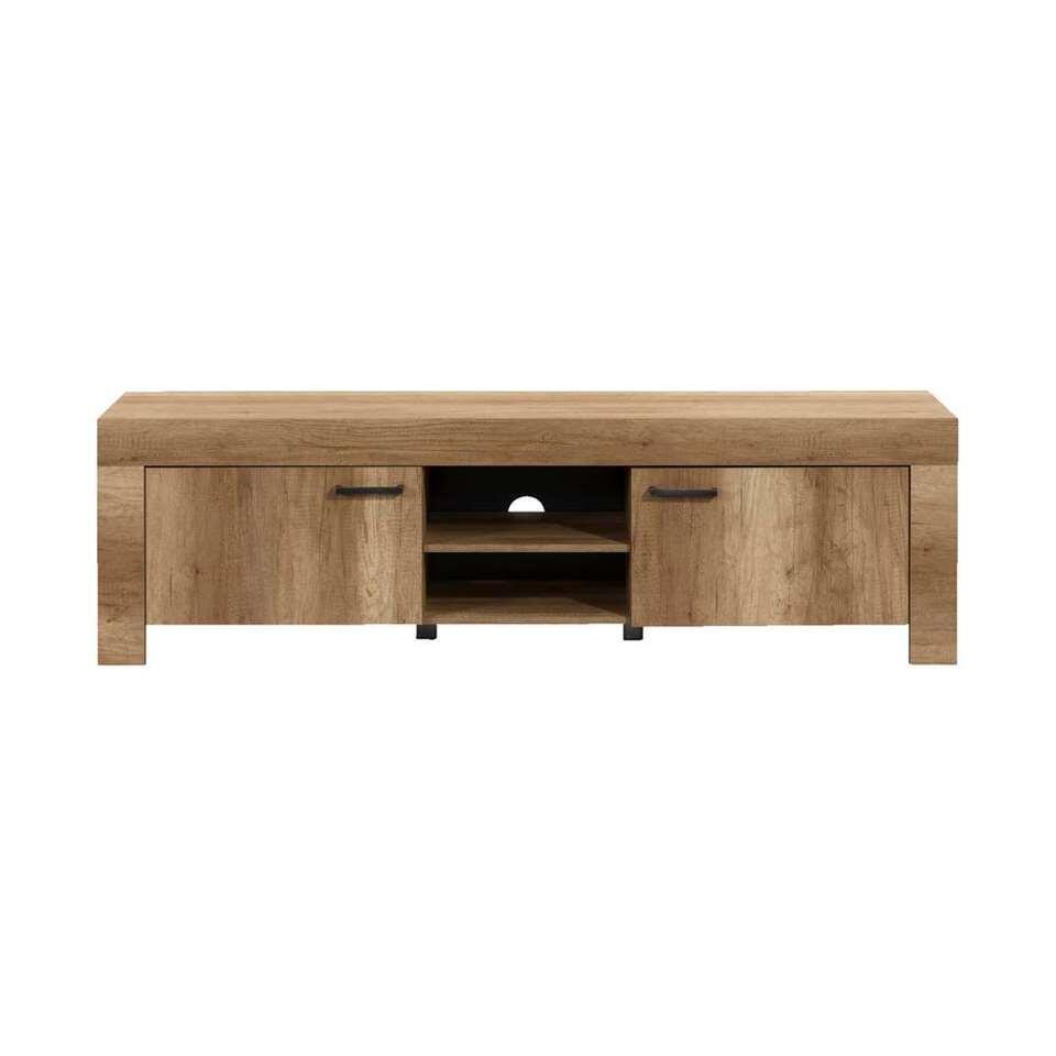 TV-meubel Lidia – eikenkleur – 56x180x43 cm – Leen Bakker