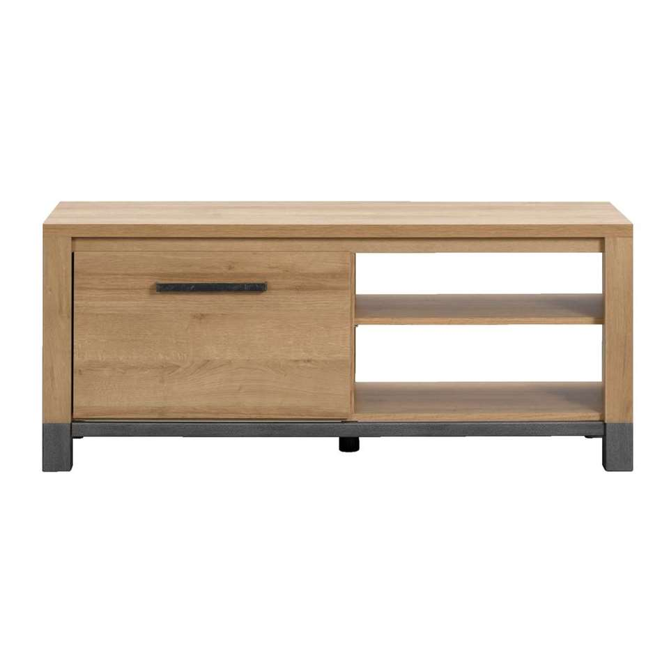 TV-meubel Finn - licht eikenkleur - 52x124x40 cm - Leen Bakker