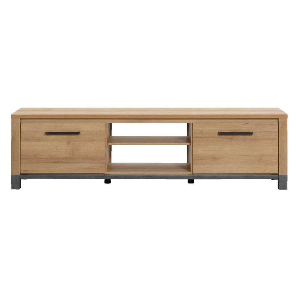 TV-meubel Finn – licht eikenkleur – 52x188x40 cm – Leen Bakker
