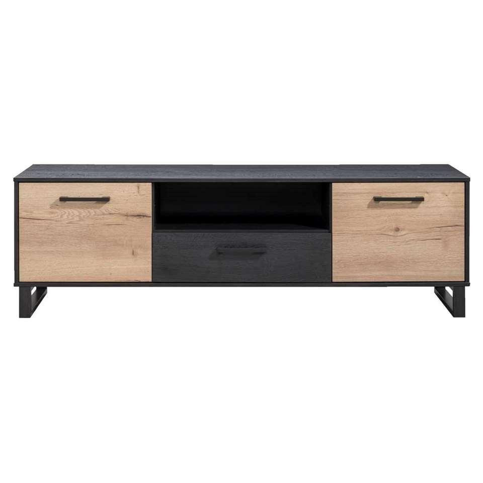 TV-dressoir Thomas - eikenkleur - 54x175x48 cm