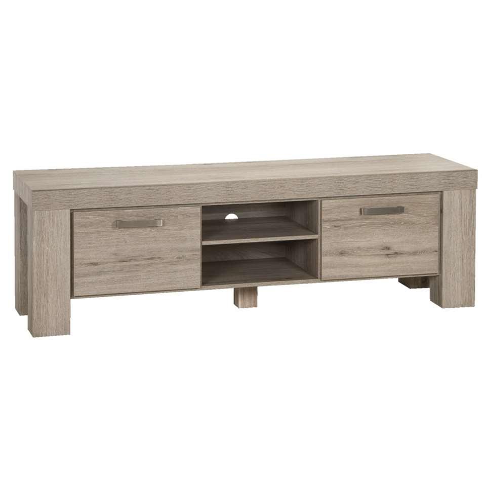 TV-meubel Mick - lichtbruin eiken - 57x182,5x50 cm