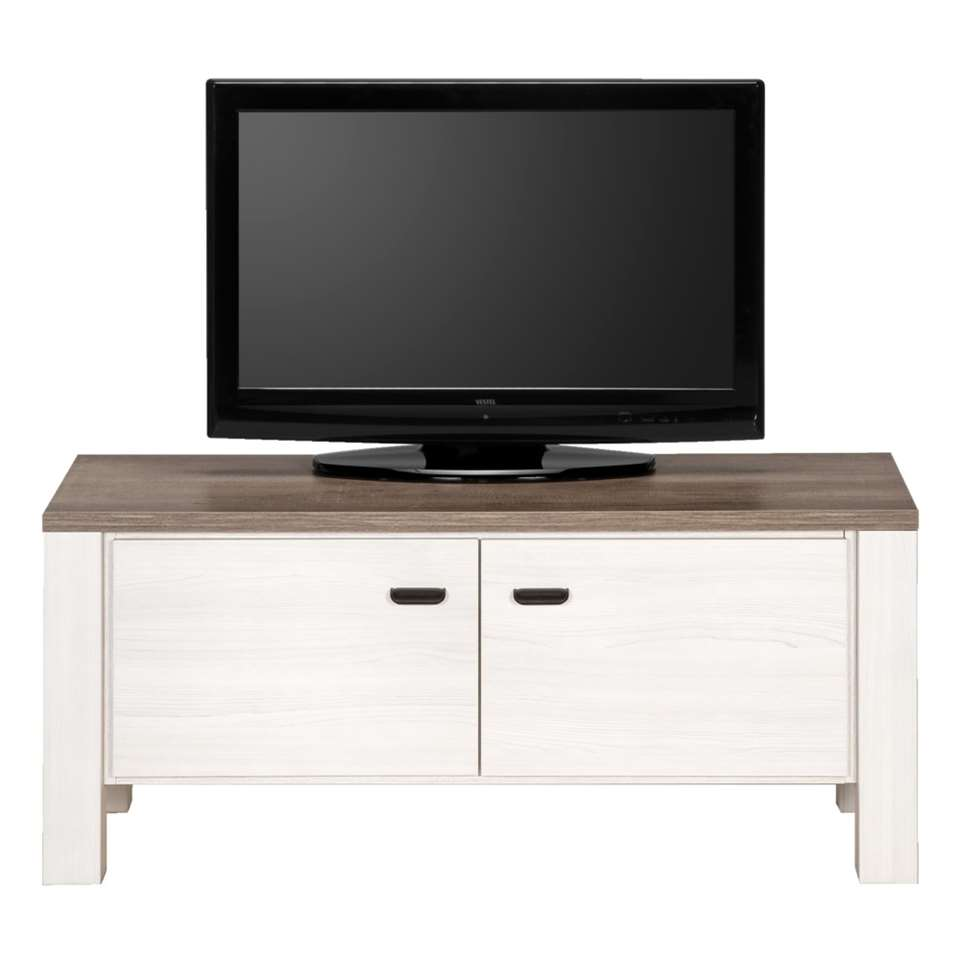 Tv Meubel Lynn Grijze Eikenkleur 52x1195x50 Cm