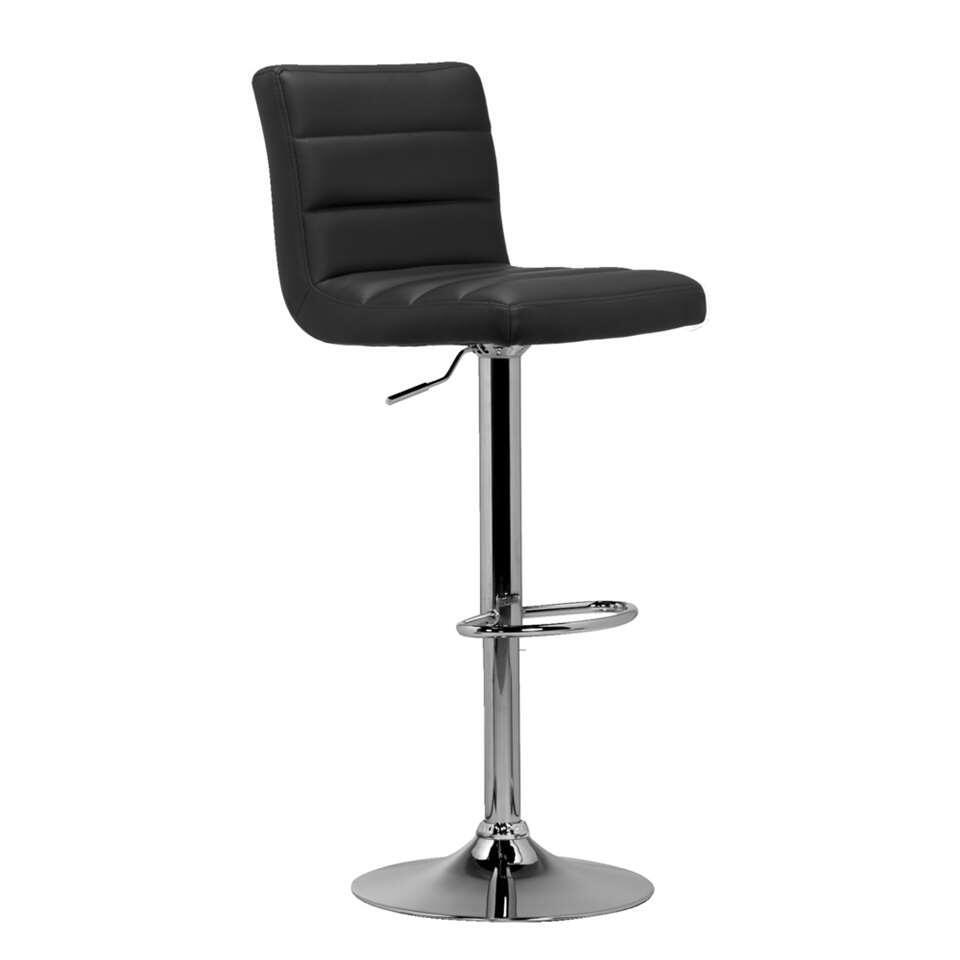 Barkruk Leeds heeft een zachte, leatherlook-zitting en is in hoogte verstelbaar voor optimaal zitcomfort. Het design verwijst naar de sixties, maar met een moderne uitstraling. Je zult veel plezier beleven aan deze prachtige barkr