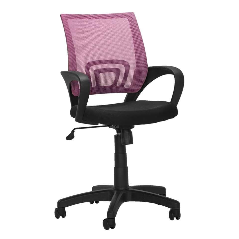 Bureaustoel Arlington - roze - Leen Bakker