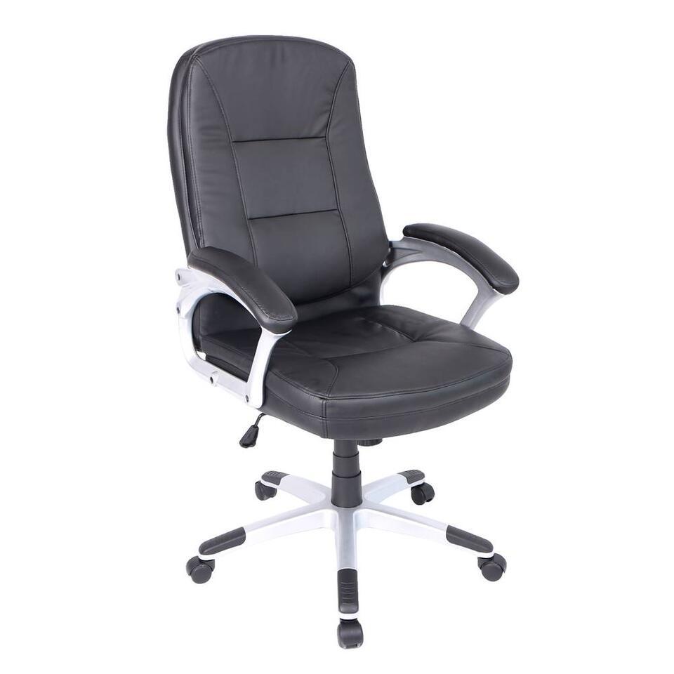 Bureaustoel Oakland is een en al luxe en comfort. De stoel is ergonomisch en heeft een perfecte zit. Daarnaast is de stoel een lust voor het oog. De combinatie van leer en staal zorgen voor een chic kantoor.