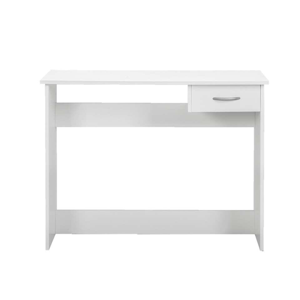 Bureau Promo is een praktisch wit bureau, voorzien van een lade voor extra bergruimte. Dit bureau is zeer geschikt voor schoolgaande kinderen.