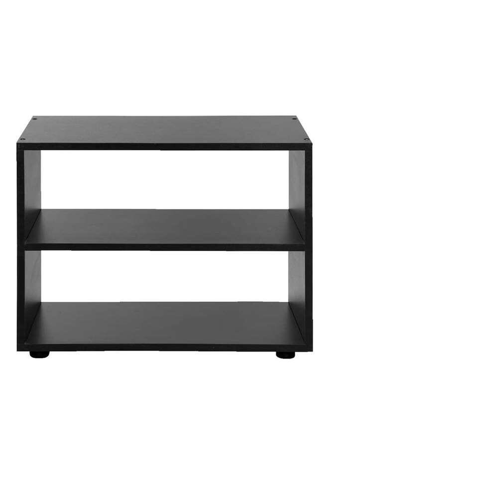 TV-meubel Vancouver - zwart - 45x60x39 cm - Leen Bakker