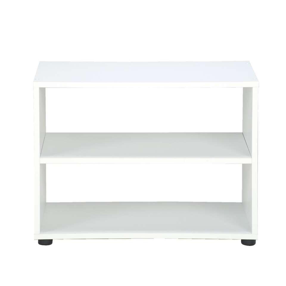 TV-meubel Vancouver - wit - 45x60x39 cm - Leen Bakker