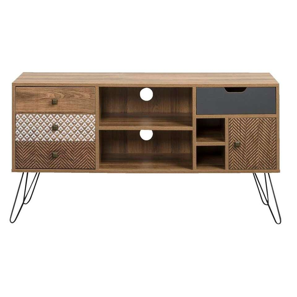 Tv-dressoir Nori - multikleur - 64x120x39 cm
