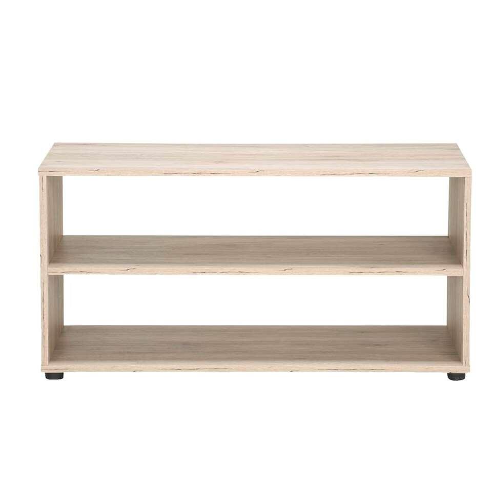 TV-meubel Vancouver - eiken/hout - 45x90x39 cm