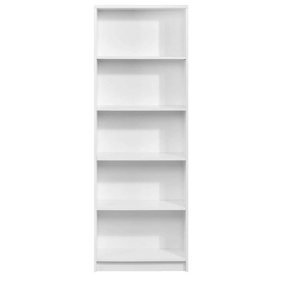 Boekenkast Promo - wit - 172x60x28 cm