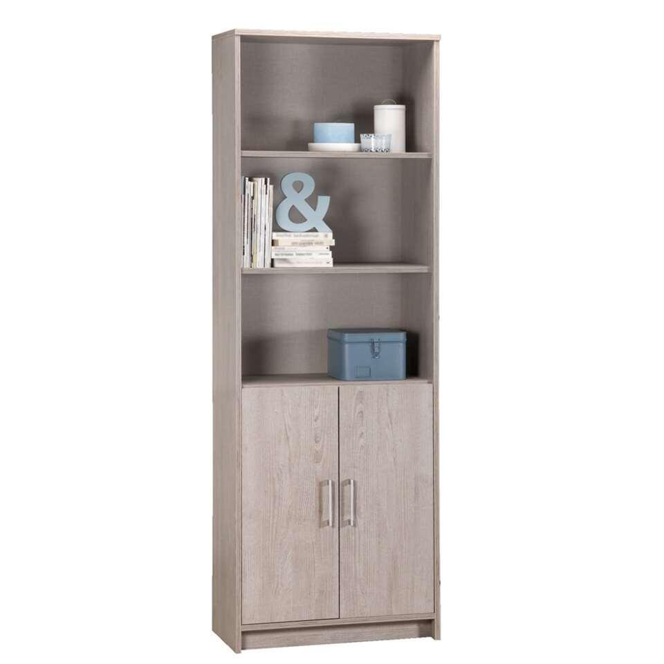 boekenkast basel 2 deurs 2029x712x355 cm