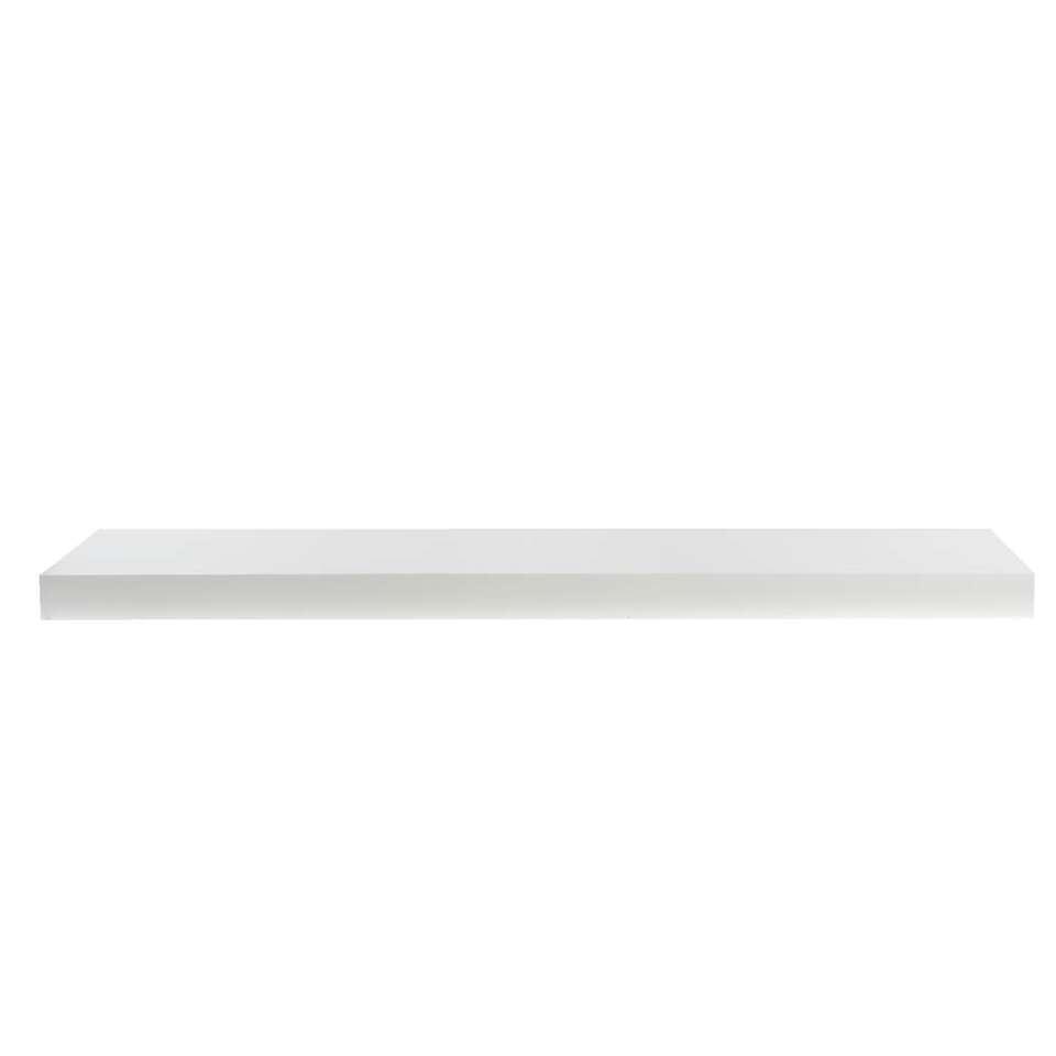 Wandplank - wit - 3,8x80x23,5 cm - Leen Bakker