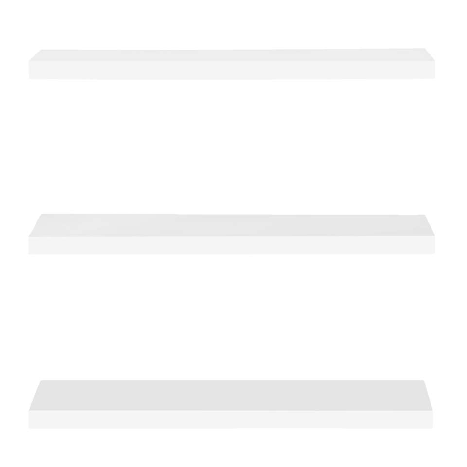 Wandplank Hoogglans Wit.Wandplank Hoogglans Wit 3 8x80x23 5 Cm