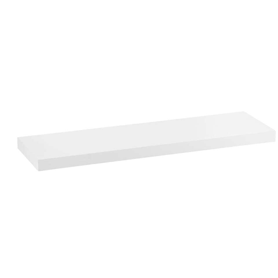 Wandplank Duraline XL - wit - 80x23,5 cm
