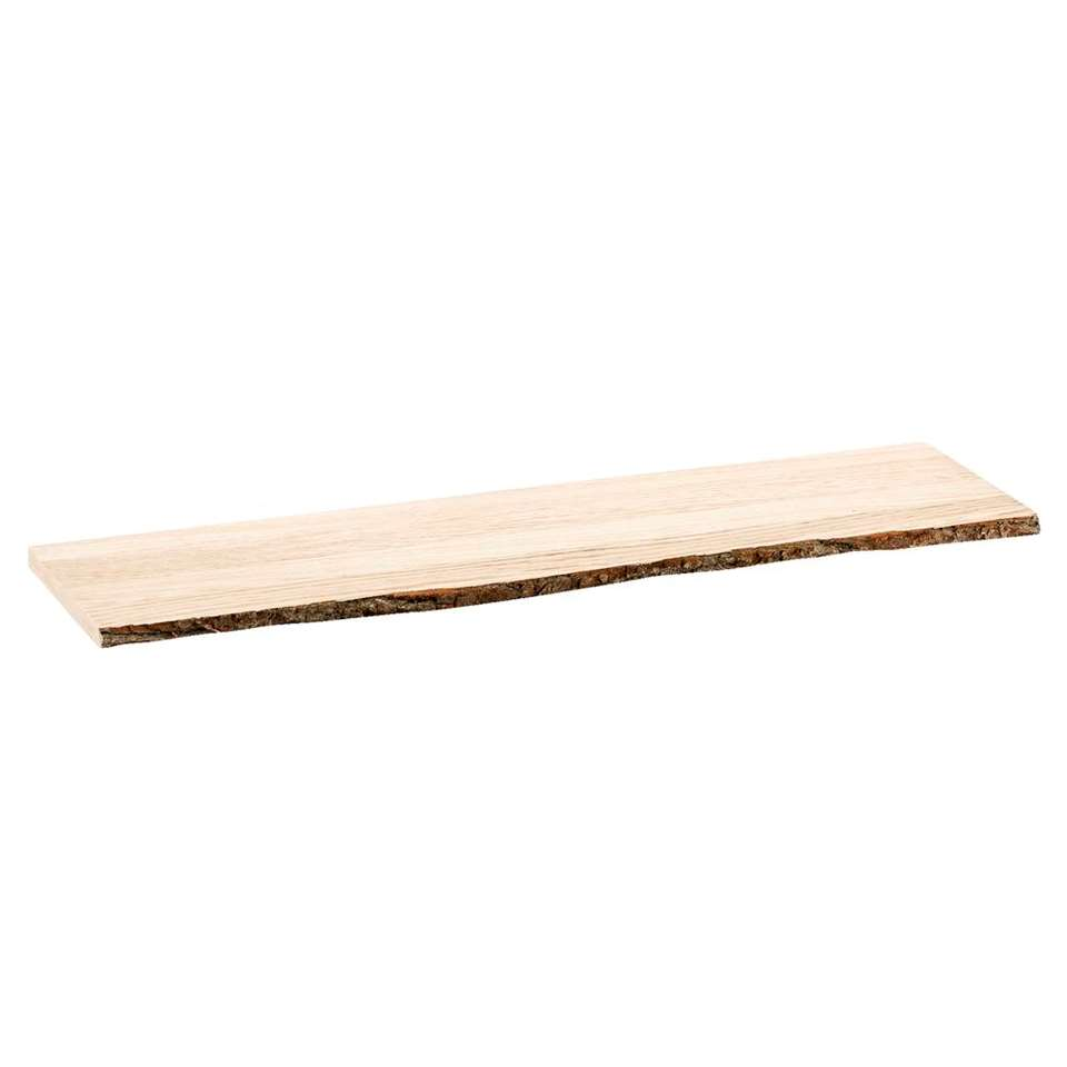 Wandplank Duraline - bruin - 80x23,5 cm