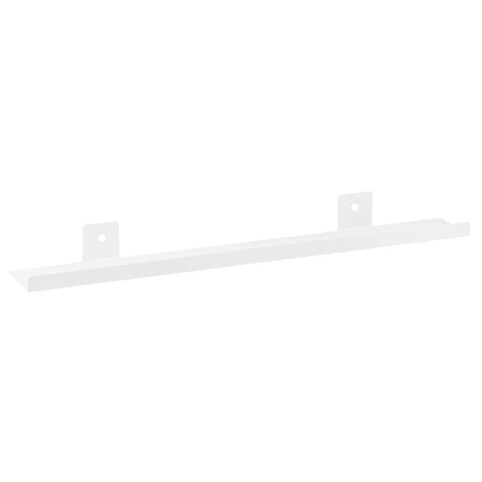 Fotoplank Duraline - metaal - wit - 60x9 cm