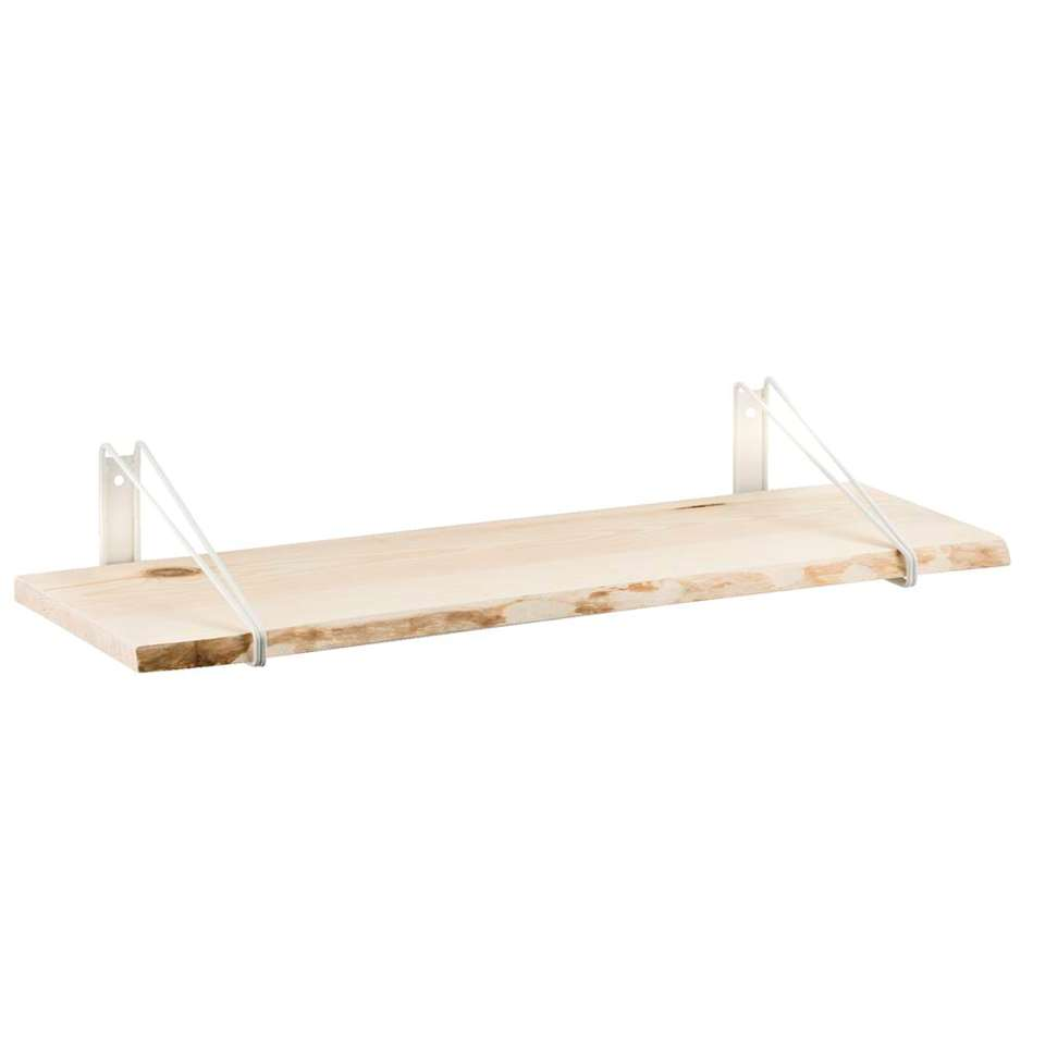 Plankdrager Duraline double low - wit - 2 stuks