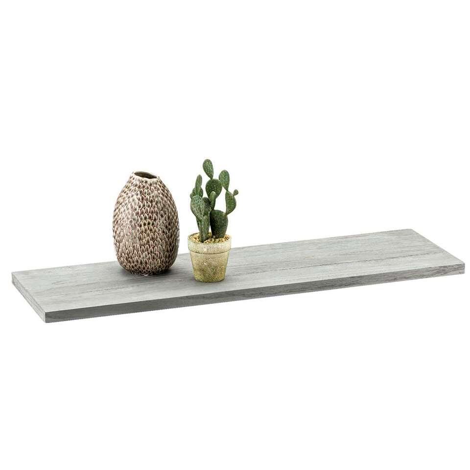 Plankdrager Duraline pin - mat zilverkleur - 2 stuks