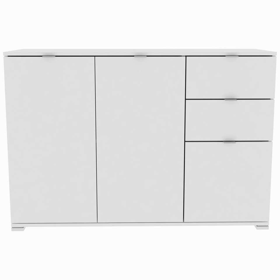 Kast Perfect 5 - wit - 82x120x42 cm