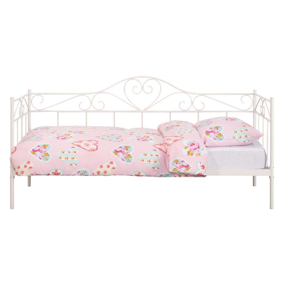 Sofabed Valerie - wit - 90x200 cm