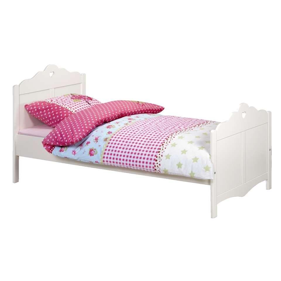 Bed Isadore - wit - 90x200 cm - Leen Bakker