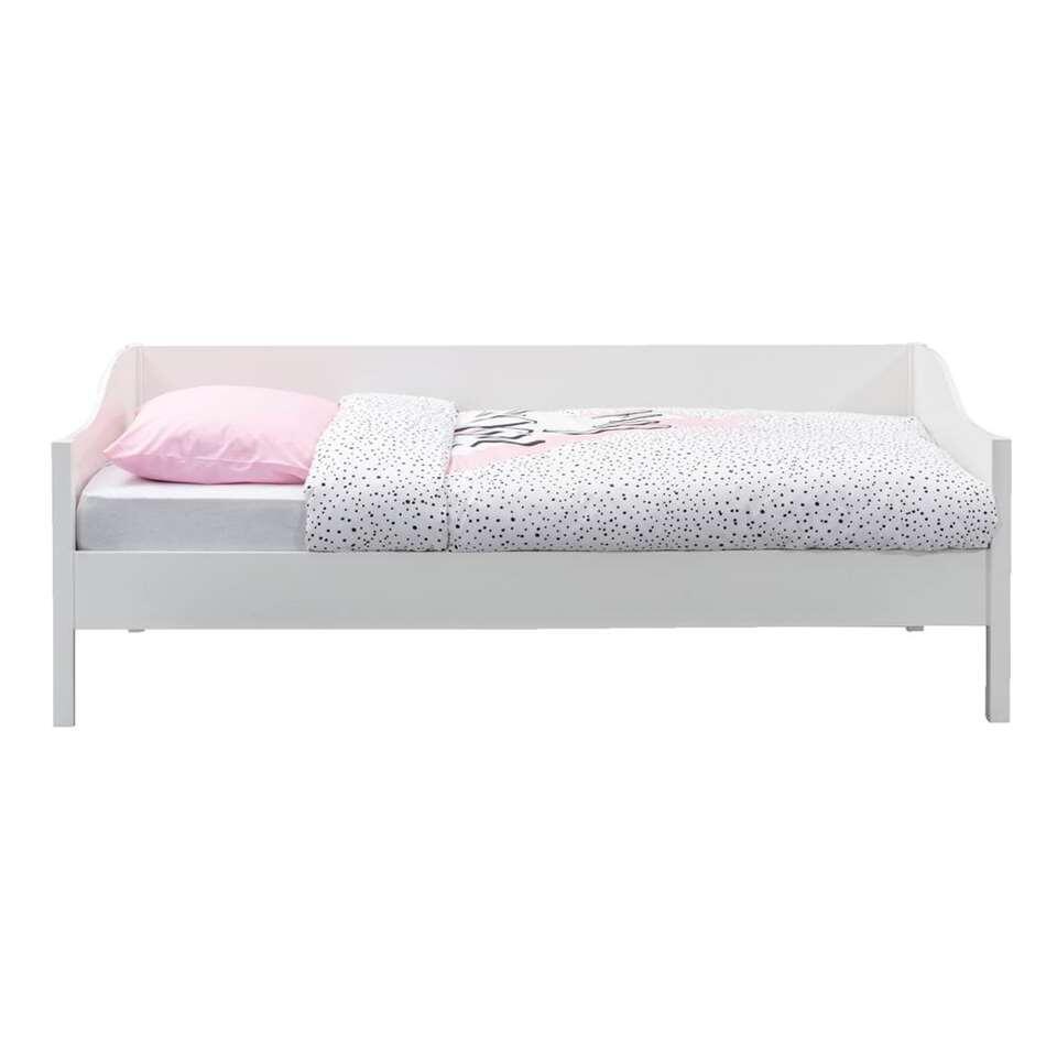Bedbank Eliza - wit - 90x200 cm - Leen Bakker