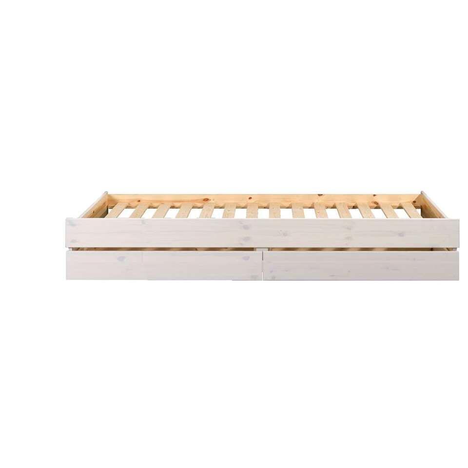 Bedverhoging Ties (incl. laden) - off-white