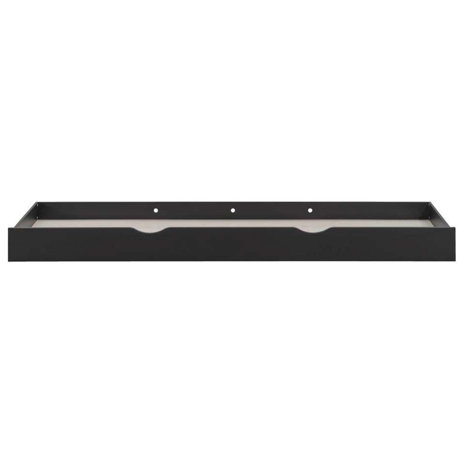 Nieuw Bed Artley incl. opberglades - eikenkleur/grafiet - 120x200 cm SD-69