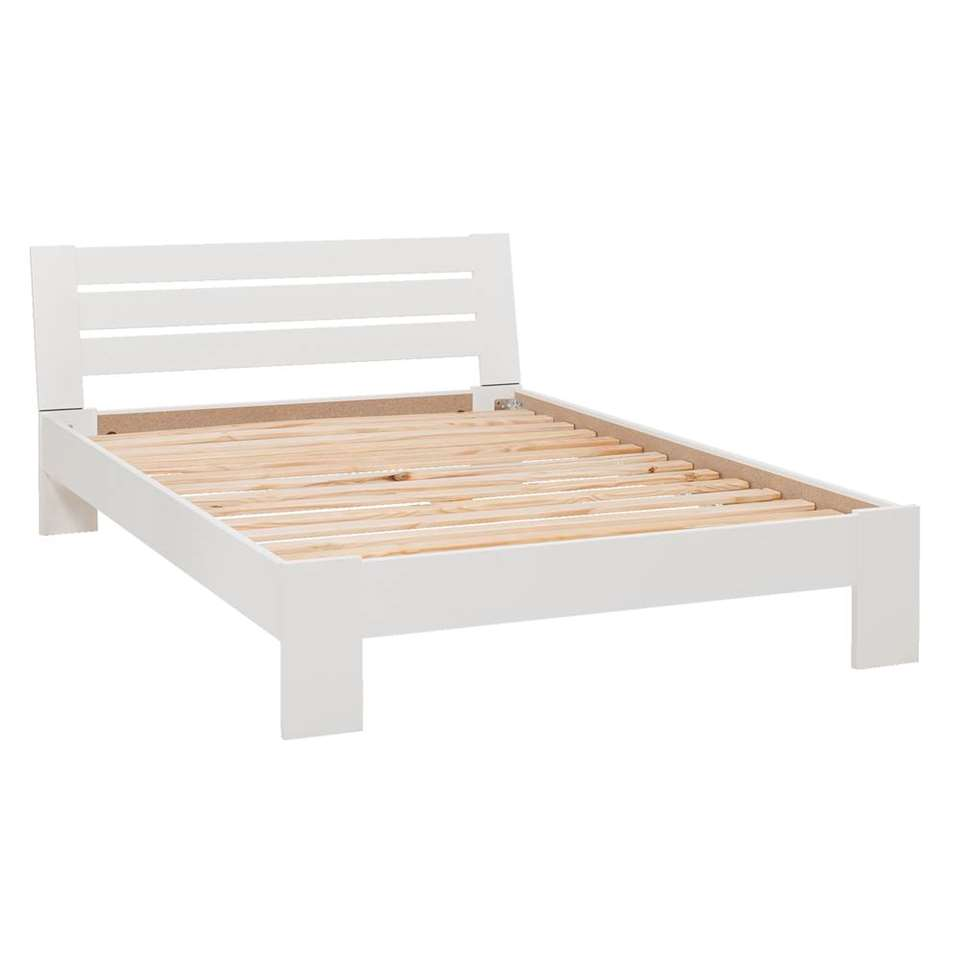 Bed 140x200 Wit.Bed Sydney 3 Latten Wit 140x200 Cm
