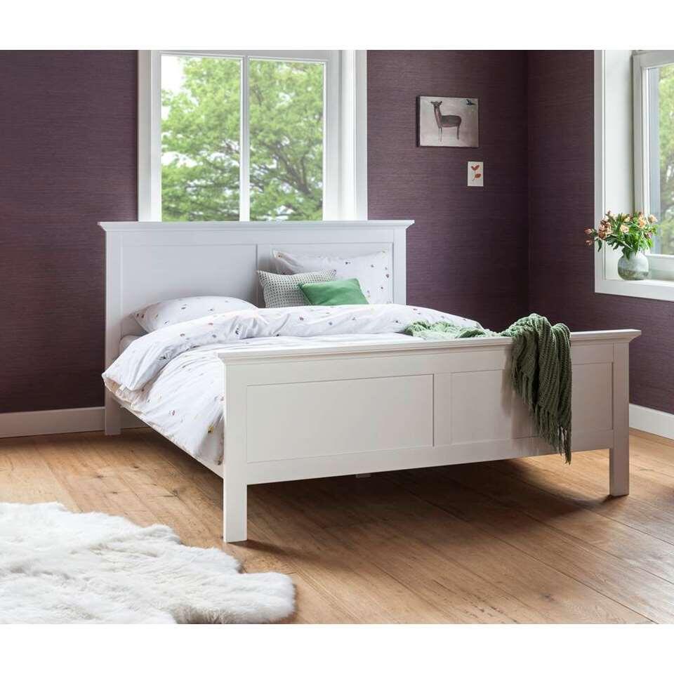 Bed 140 200 Slaapkamer Bedden.Bed Fleur Wit 140x200 Cm