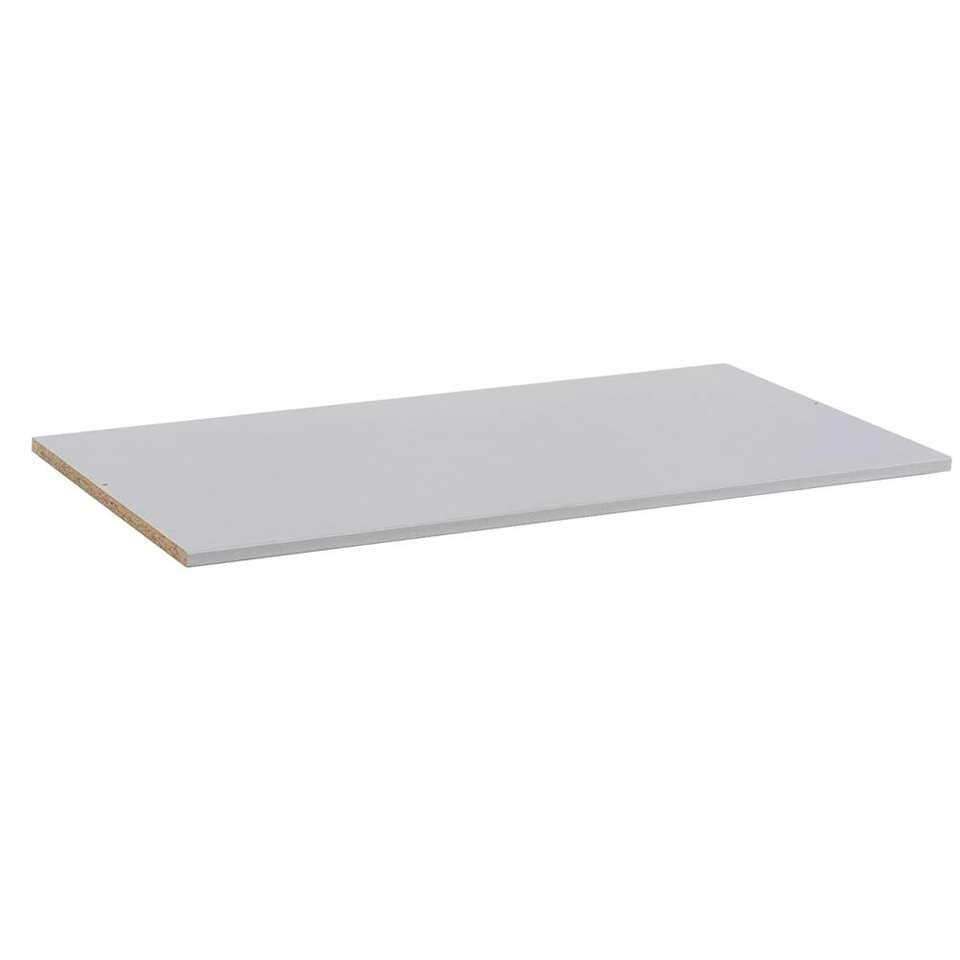 Legplank Tirana/Ankara - grijs - 100 cm - Leen Bakker