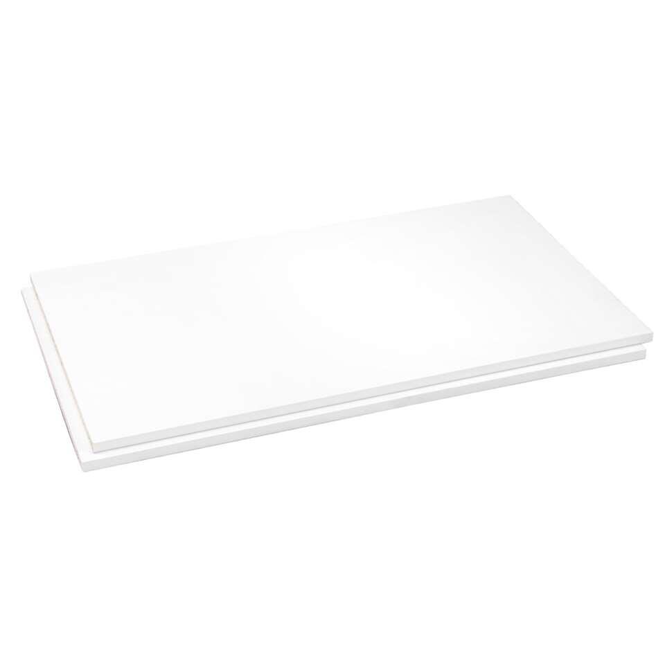 Legplankenset Reims (2 stuks ) - wit - 83 cm