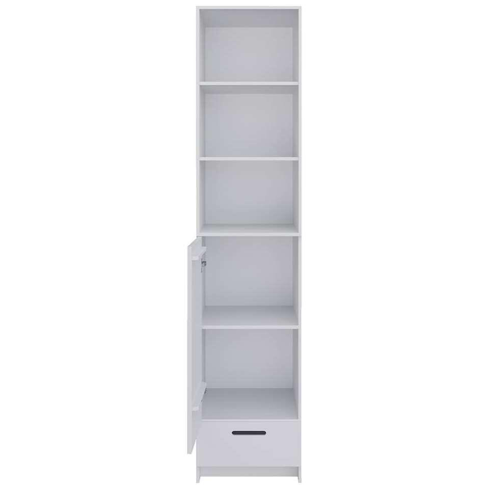 Welp Pure XL by Woood kledingkast Locker - wit - 215x48x60 cm JG-27