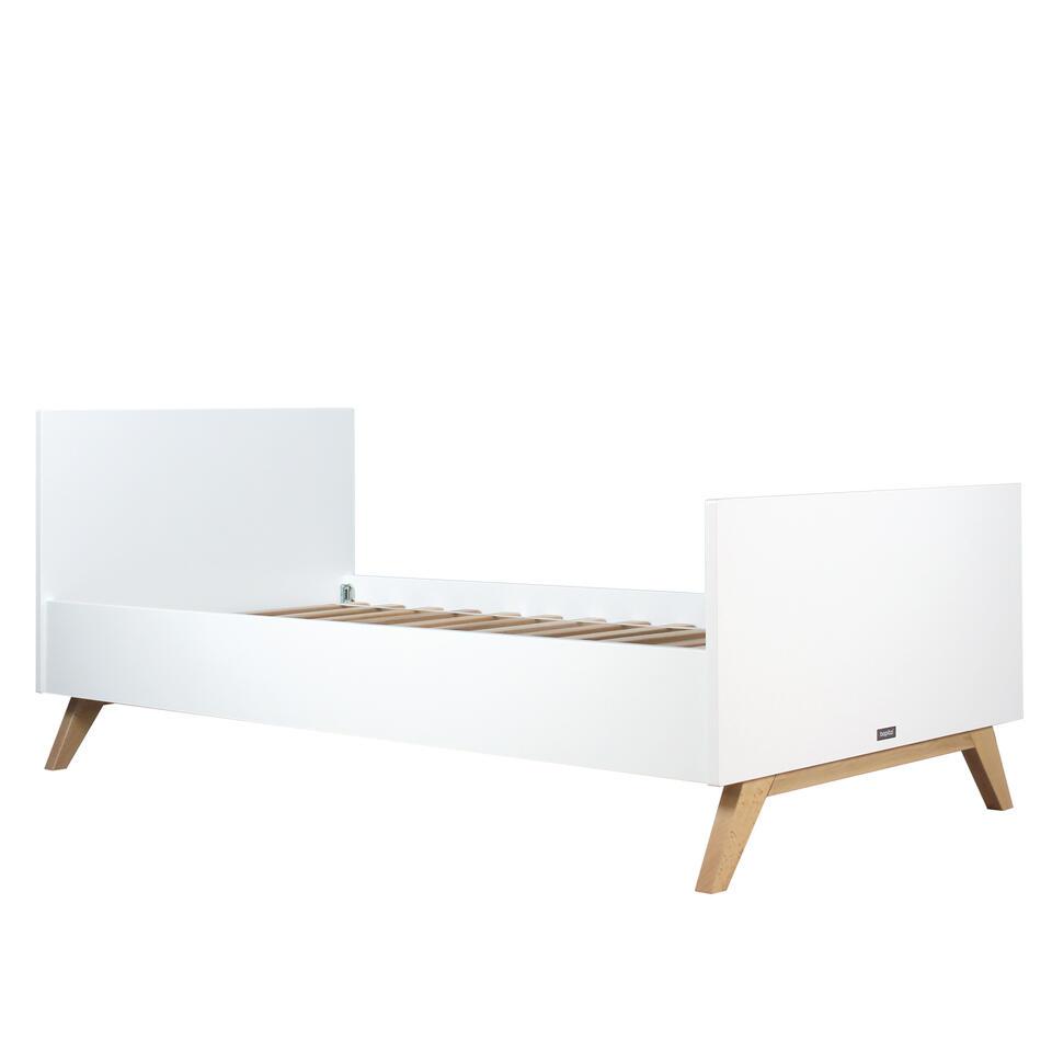 Bopita Lynn Bed - 90 x 200 cm Wit/Naturel