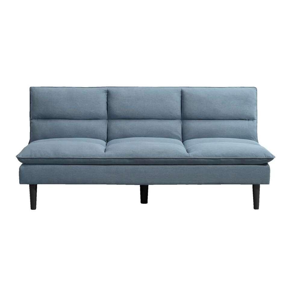 Slaapbank Antibes – blauw/grijs – Leen Bakker