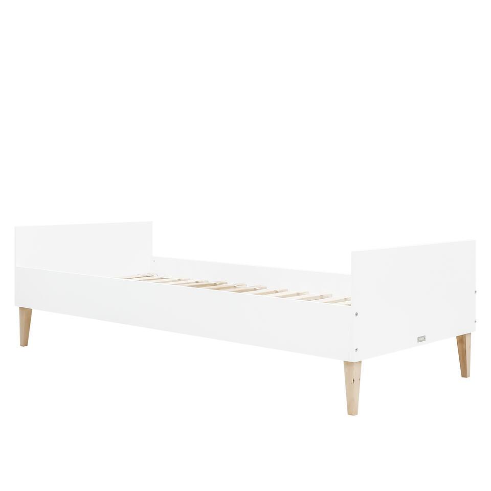 Bopita Indy Bed - 90 x 200 cm Wit/Naturel (exclusief bodem)