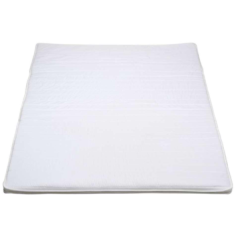 Topmatras Voor Frans Bed.Topdekmatras Basic 70x200x4 Cm