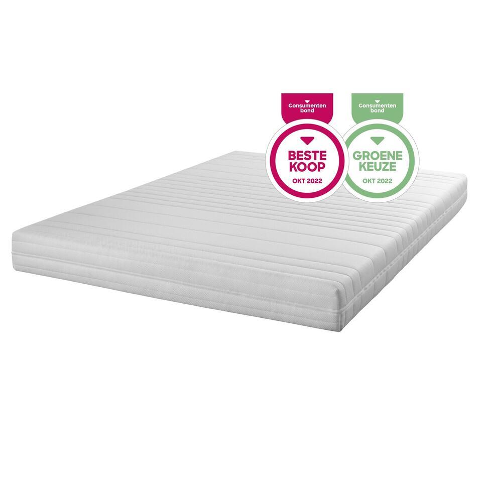 Easy 1600 Elastifoam koudschuim matras - 160x200x16 cm - Leen Bakker