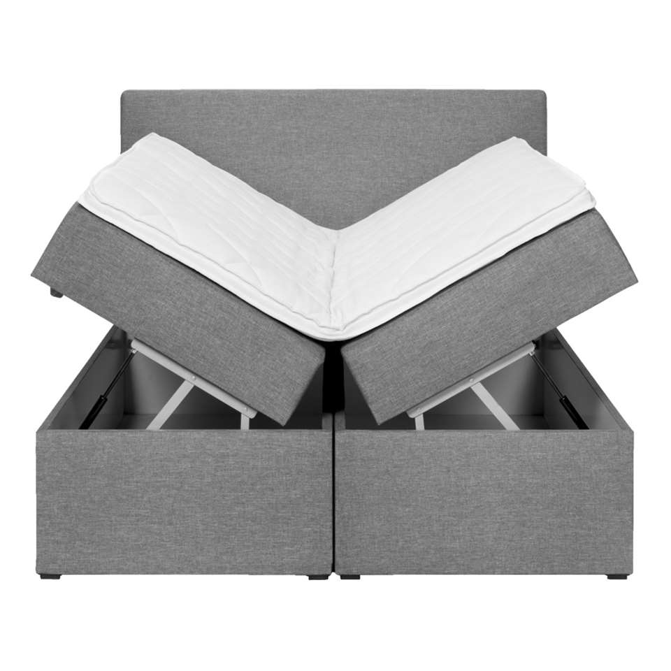 boxcombinatie varena grijs 140x200 cm. Black Bedroom Furniture Sets. Home Design Ideas