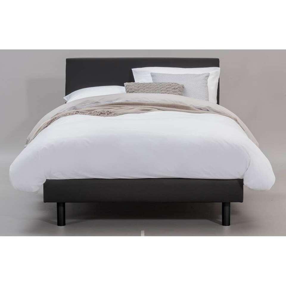 boxspring arhus zwart 120x200 cm. Black Bedroom Furniture Sets. Home Design Ideas