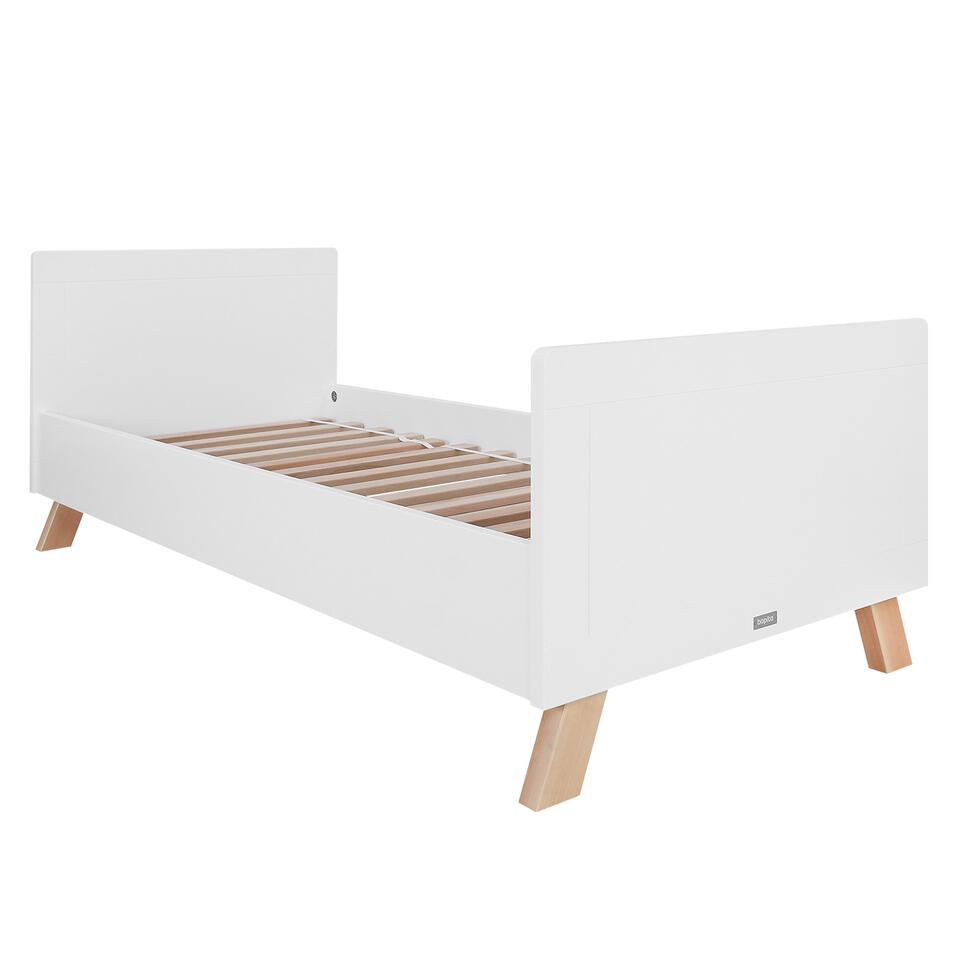 Bopita Lisa Bed - 90 x 200 cm Wit/Naturel