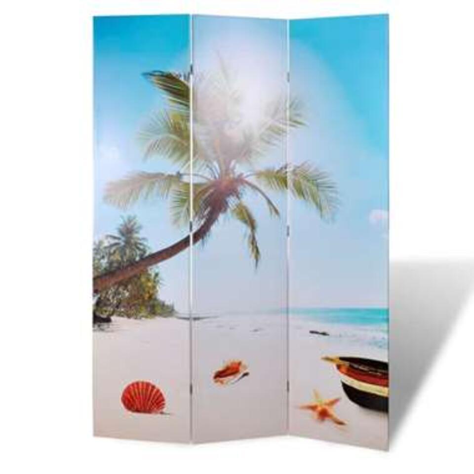 VIDAXL Kamerscherm - inklapbaar strand - 120x170 cm