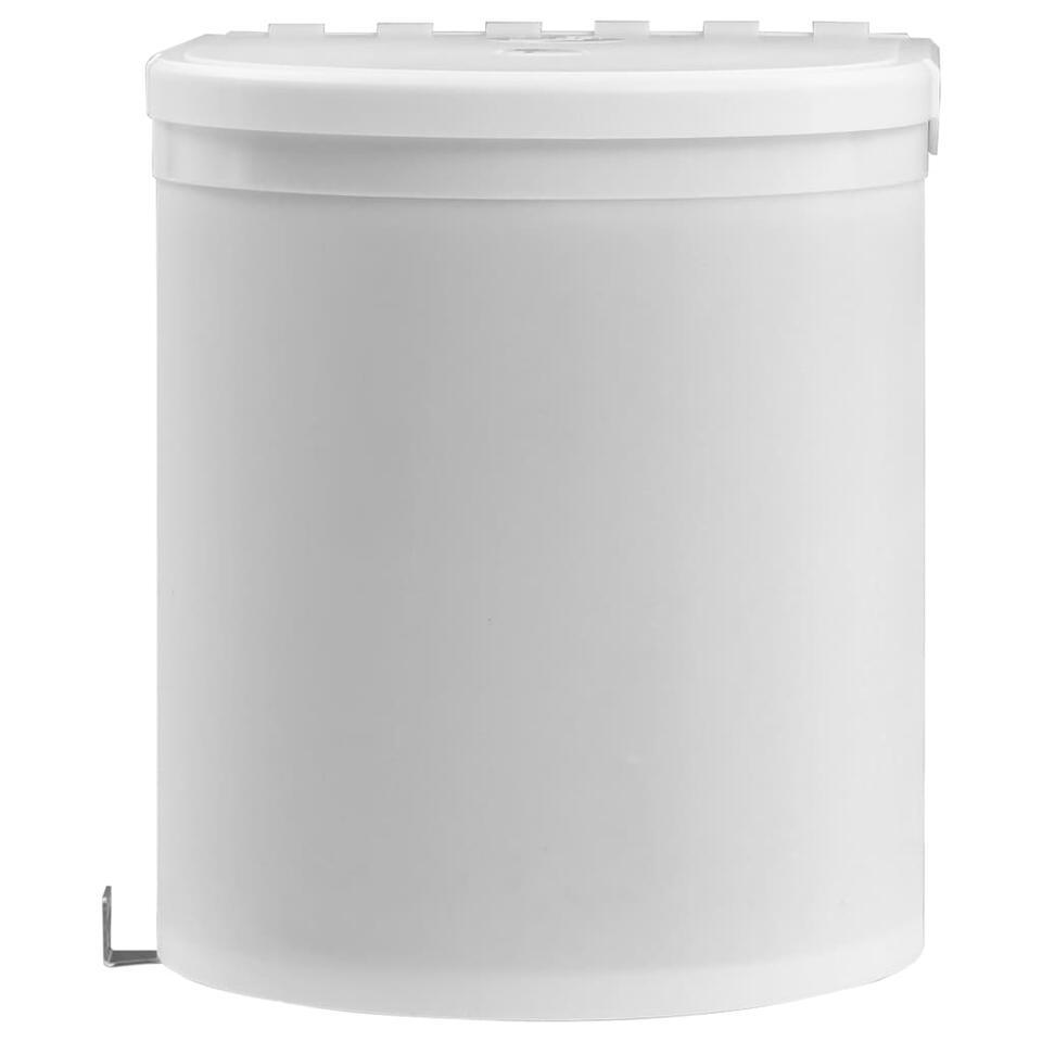 VIDAXL Keukenvuilnisbak - inbouw - 8 L - kunststof