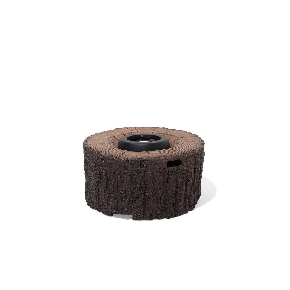 Beliani Vuurkorf MERBABY - bruin staal