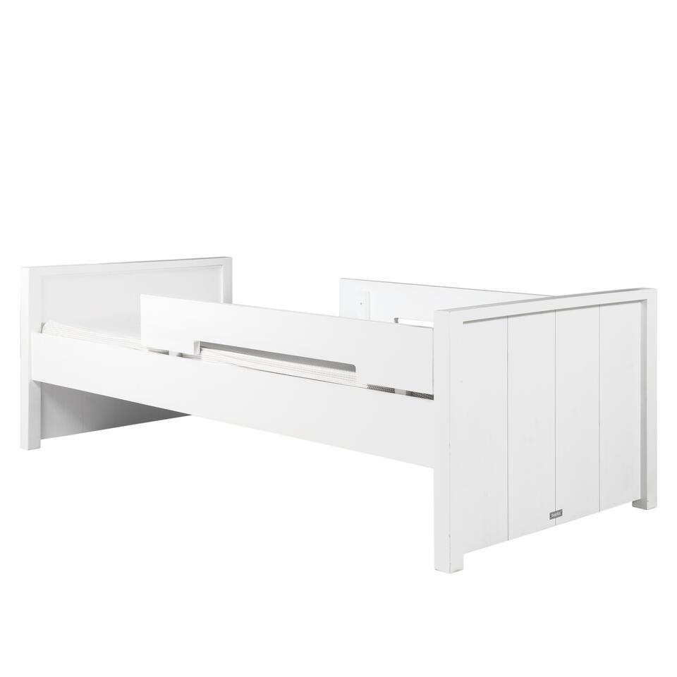 Bopita Basic Wood Bed - 90 x 200 cm White Wash